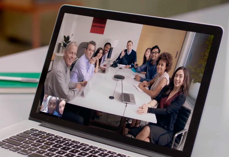 novação para videoconferências